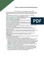 Transformacion Fusion y Escision de Sociedades Mercantiles