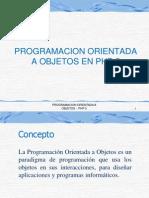 Programacion Orientada a Objetos - PHP 5