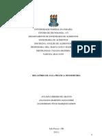 UNIVERSIDADE FEDERAL DA PARAÍBA - relatorio