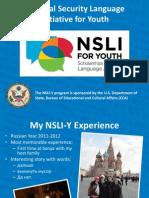 NSLIY Presentation