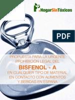 BISFENOL A - Tóxico alimentario