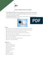 DMDFB Wall-mount Clamp-On Doppler Ultrasonic Flow Meter