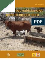 Alternativas nutricionales para época seca