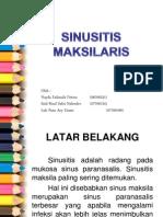 PPT Referat Sinusitis