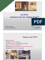 Richard Sommer - Het EPD - Zoektocht Naar de Heilige Graal