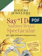 Rogers Jewelers Summer 2009 Catalog