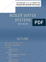 Boiler Water System