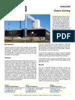 SolarWall Case Study - Owens Corning (solar air heating system)
