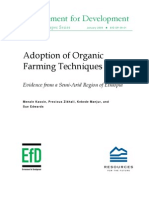 Adoption of Organic Farming Techniques-EthiopiaCaseStudy