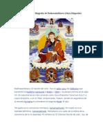 Una pequeña Biografía de Padmasambhava