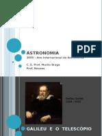 Astronomia - apresentação
