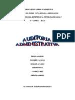 Auditoria Administrativa Nuevo