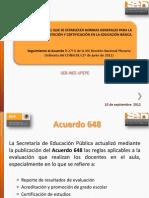 Dg Dc Seb Acuerdo 648