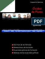 Tipos de oxido de Plomo