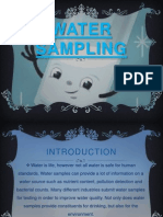 Water Analysis (Incomplete) FOPCU