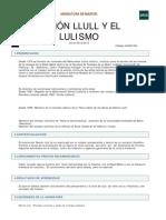 1 Ramón Llull y el lulismo