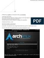 Instalando o ArchLinux! _ Blog Do Gio
