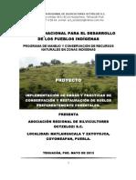 Proyecto Matlahuacala Bueno