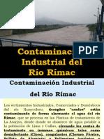 Contaminación del Río Rímac