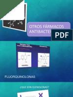 Otros fármacos antibacterianos ed.