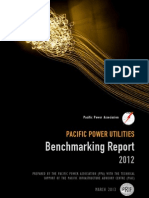 Pacific Power Association - Benchmarking Report 2012
