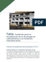 Fatla, reseña històrica de Josuè
