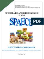 Atividades de Matemc3a1tica 9c2ba Ano Com Descritores Spaece 2 PDF