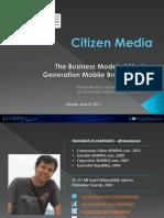citizen spectacular media