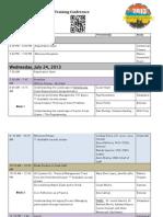 Southwest National Service Conference Final Agenda