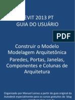 Revit 2013 PT Construir o Modelo Paredes Portas Janelas Pilares