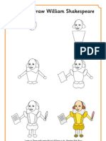 Learn to Draw William Shakespeare