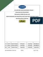 PWHT Procedure A2