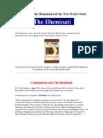 Illuminati and the New World Order Article