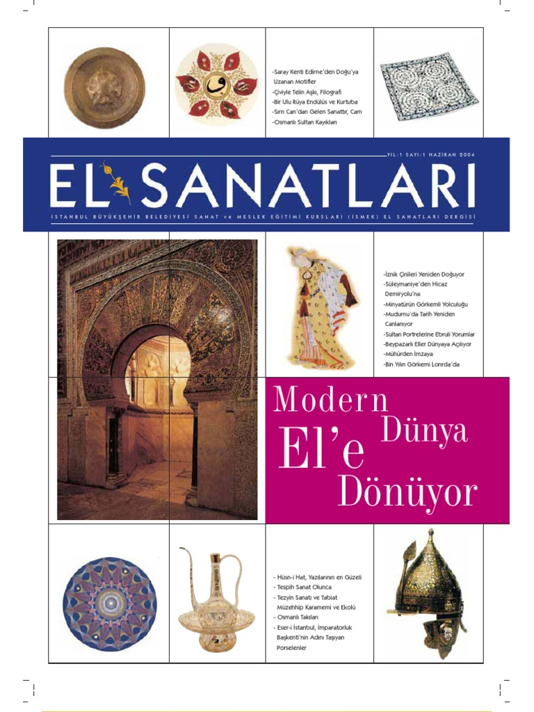 El Sanatlari Dergisi 1
