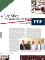 A Slap Shot for Women's Hockey