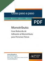 PasoaPasoAdhesiónMonotributo Simplificado PF