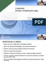 Algebra de Boole y Simplificación Lógica
