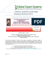 Caribbean Grateful Leadership Business Retreat 2013 Delegate's Kit
