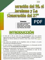 original - La Generación del 98 y el Modernismo