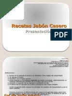 Recetas Jabón Casero