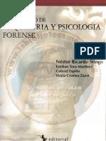 Diccionario de Psiquiatría y Psicología Forense - Néstor Ricardo Stingo