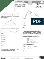 LOGIC - Preparatório PROFMAT Aula 10 - Razões Trigonométricas