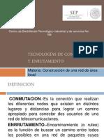 Tecnologías de conmutación y enrutamiento