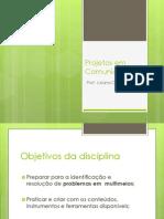 Projetos em Comunicação II