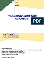 Programa Proasocio_Presentación_Plan de negocio_2011