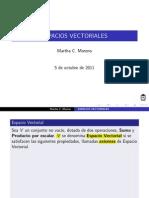 Clase Espacios Vectoriales