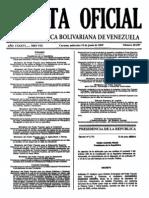 Gaceta 39197 - Resolucion 110 Min de Obras Pub y Vivienda