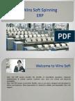 Wins Soft Spinning ERP