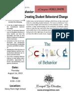 Science of Behavior Flyer - RRISD Version