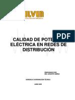 Manual de Calidad de Potencia Eléctrica en Redes de Distribución